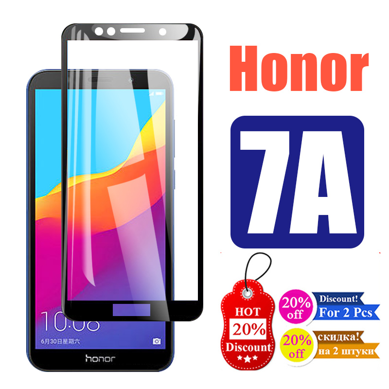 Honor 7A Protective Glass On For Huawei 7 A A7 Tempred Film Screen Protector Honor7a Honer Honer7a Xonor Armored Protection Glas