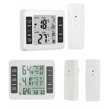 בית אלחוטי מקורה וחיצוני מדי חום אלקטרוני אלחוטי בקירור במקרר מדחום 94PC