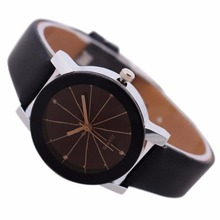 Fashion Men Women Leather Wrist Watch Casual Analog Quartz Dial Hour Digital Watches Reloj Mujer Round