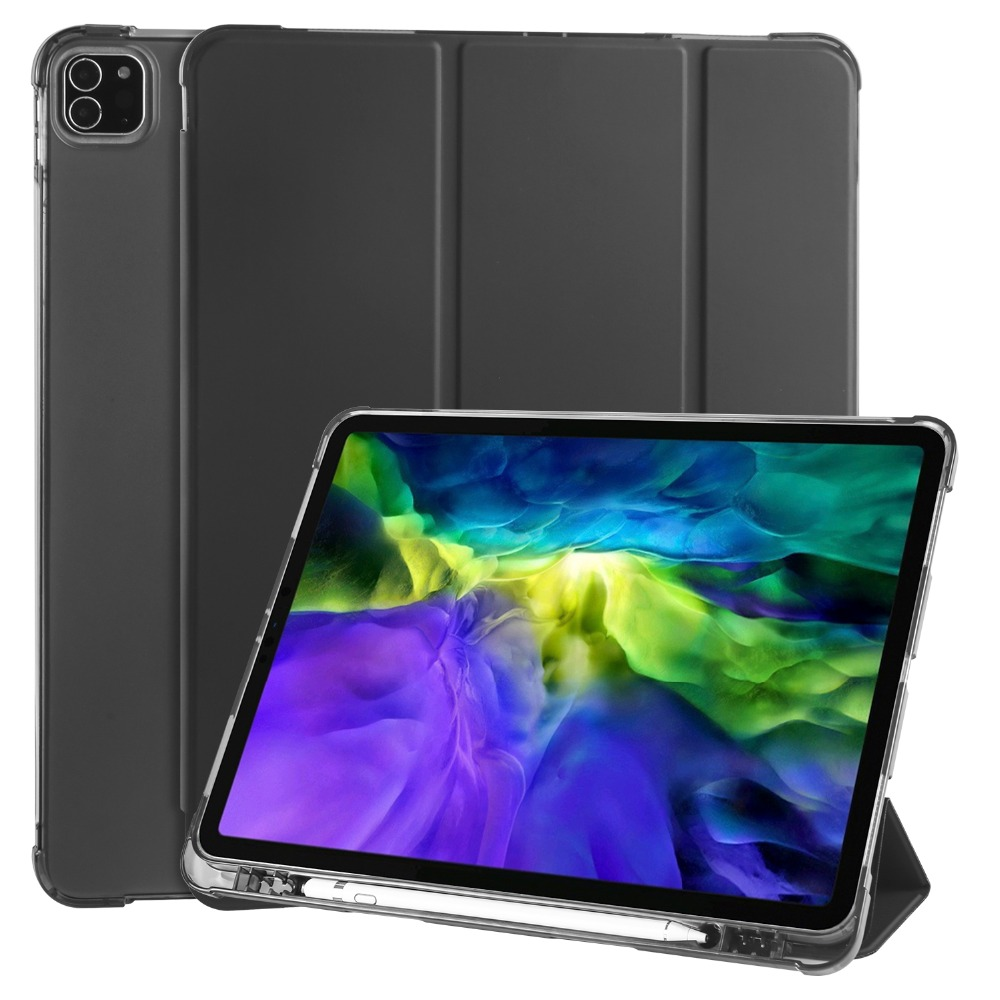 Case 12 2018 TPU for iPad Pencil For Pro Holder Apple Cover Shell iPad 9 2020 with Soft