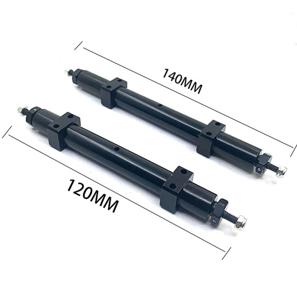 120MM 140MM Metal Non-powered Rear Wheel Axle for 1/14 <font><b>TAMIYA</b></font> RC Truck Tractor <font><b>Trailer</b></font> Spare <font><b>Parts</b></font> image