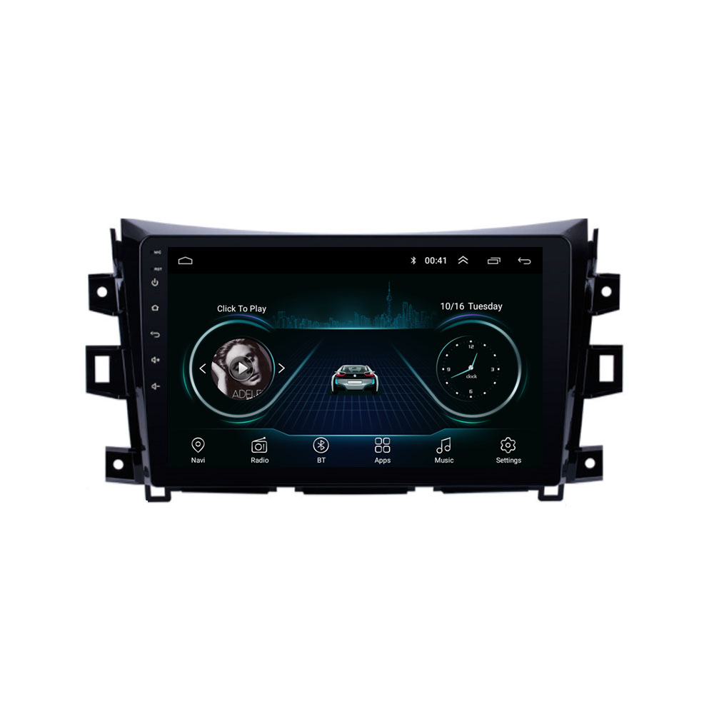 4G LTE Android 8.1 pour NISSAN NAVARA Frontier NP300 2011 2012 2013-2016 multimédia stéréo voiture lecteur DVD Navigation GPS Radio