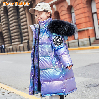 -30 degrees 2020 Children Girls clothes warm Winter Down Jackets coat Boys Clothing kids Hooded Thicken Long waterproof Parka цена 2017