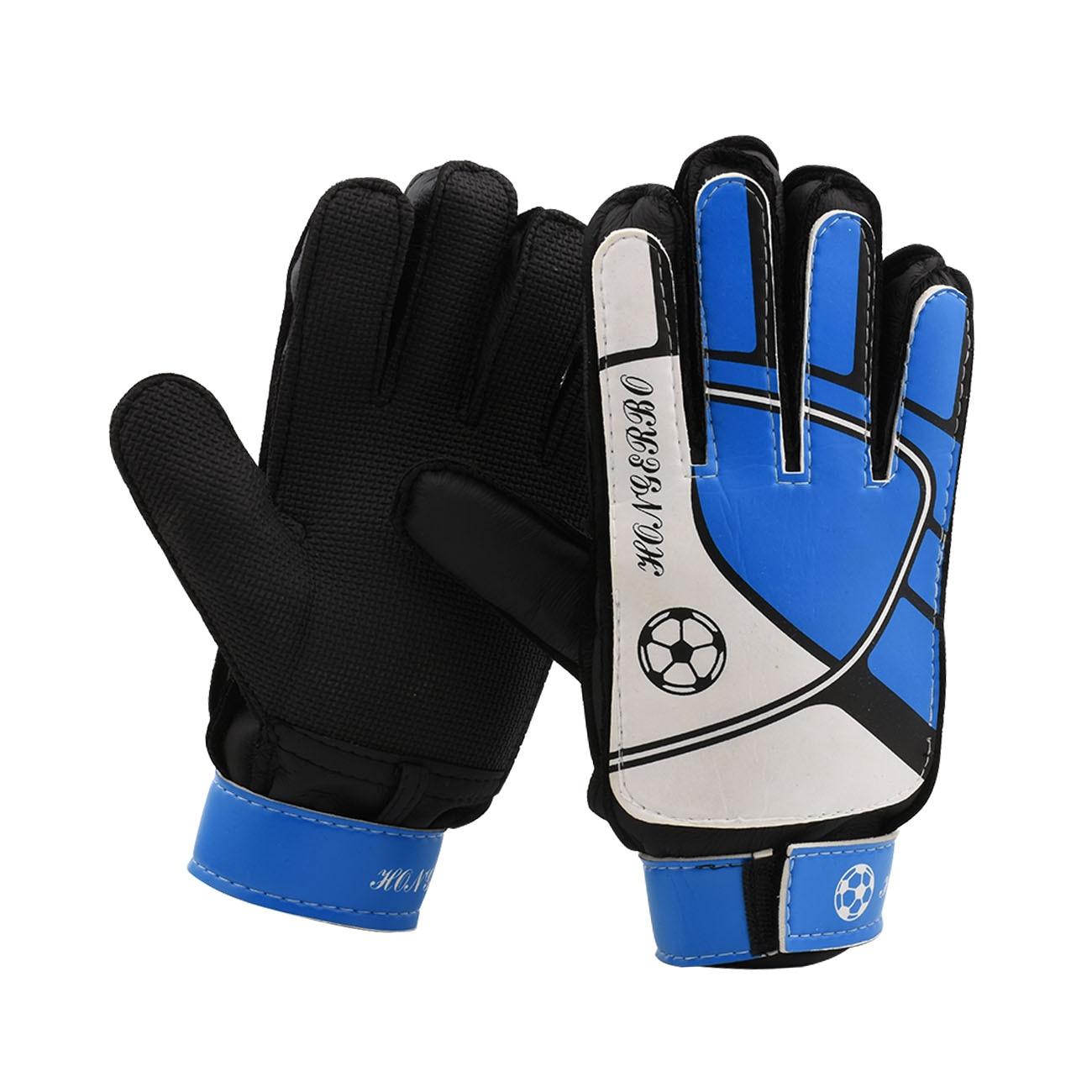 Professional Football Goalkeeper Gloves Adults Children Finger Protector Kids Soccer Goalie Gloves Latex Strong Finger Save Gear
