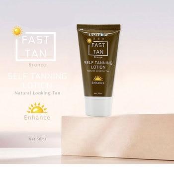 1 Pcs Tanning Cream Self-tanning Sunscreen Cream Tanning Salon Bronze Body Sunscreen Makeup Foundation Fast Spray Lotion