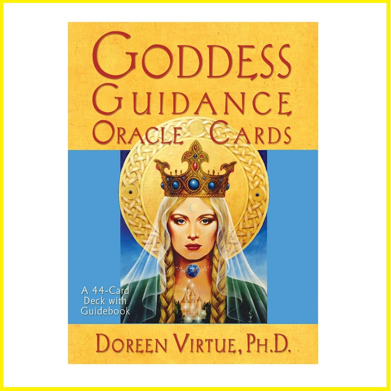 High Quality Paper GODDESS GUIDANCE Oracle Cards TAROT Divine Prophecy Cards English Version