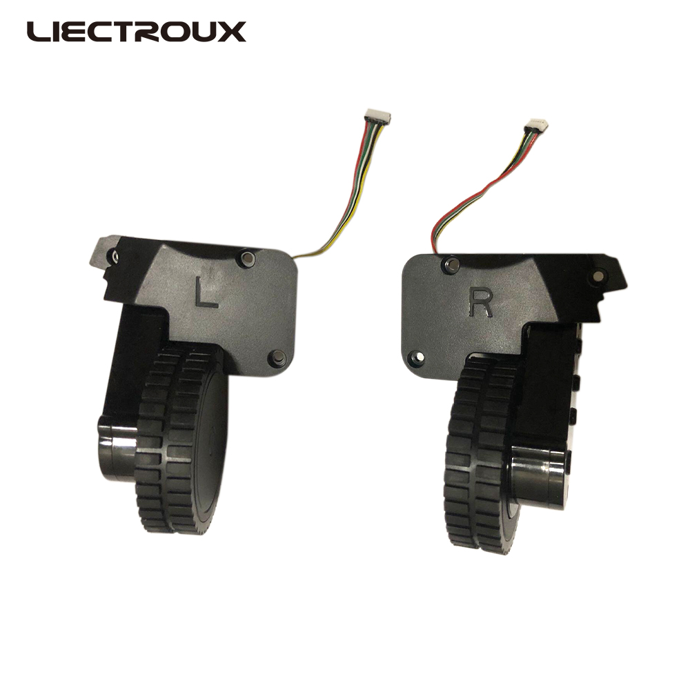 (Moscow Warehouse) Wheels For LIECTROUX C30B Robot Vacuum Cleaner, 1 Pack Includes 1*Left Wheel + 1 Right Wheel