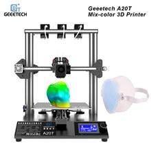 Geeetech A20T 3D Printer 3-In-1 Out Mix-Kleur Afdrukken Met GT2560 Control Board Ondersteuning Hervatten printing Filament Detectie