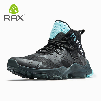 Rax Mens Running Sneakers Outdoor Shoes Sports Sneakers Men Breathable Mesh Athletic Trainers Cushioning Gym Zapatillas Hombre фото