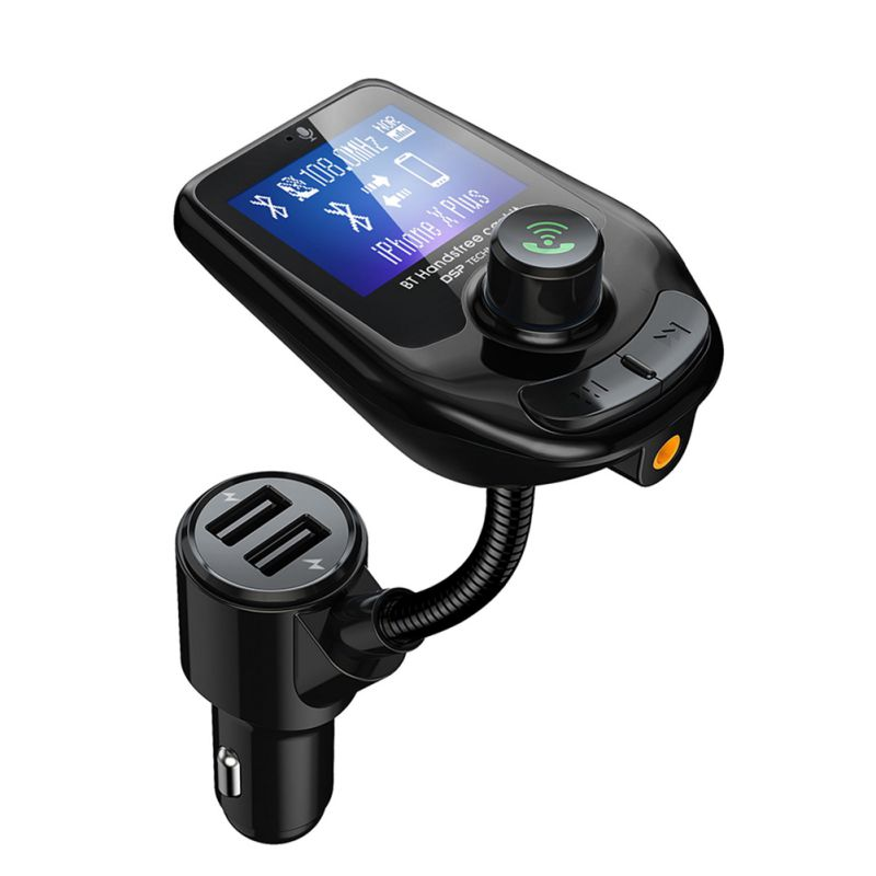 Sale newest Car FM Transmitter MP3 Player Support TF Card Portable Car MP3 Players With 2 USB Ports Car for cellphone