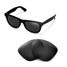 Walleva Polarized Replacement Lenses for Ray-Ban Wayfarer RB2140 54mm S