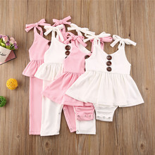 Summer Baby Girls Romper Princess Newborn Baby Clot
