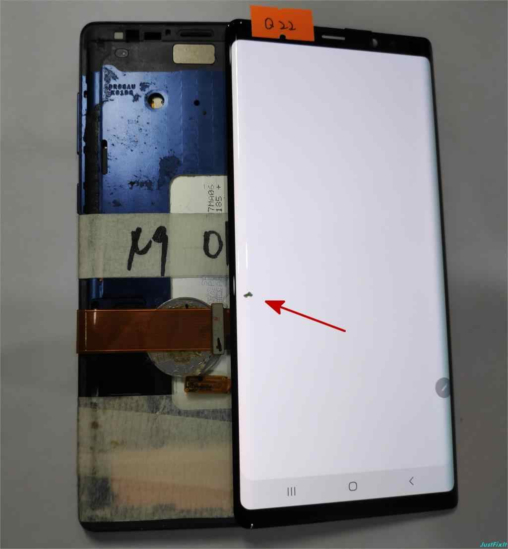 لسامسونج غالاكسي ملاحظة 9 N960 N960F N960D N960DS عيب شاشة الكريستال السائل مجموعة المحولات الرقمية لشاشة تعمل بلمس سوبر Amoled