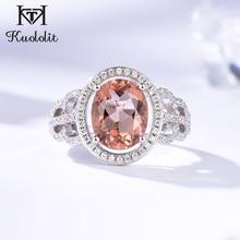 Kuololit Zultaniteอัญมณีแหวนเงินแท้ 925 สีเปลี่ยนDiaspore Handmadeเจ้าสาวของขวัญเครื่องประดับFine