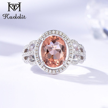 Kuololit Zultanite Gemstone Rings for Women Solid 925 Sterling Silver Color Change Diaspore Handmade  Bride Gifts Fine Jewelry