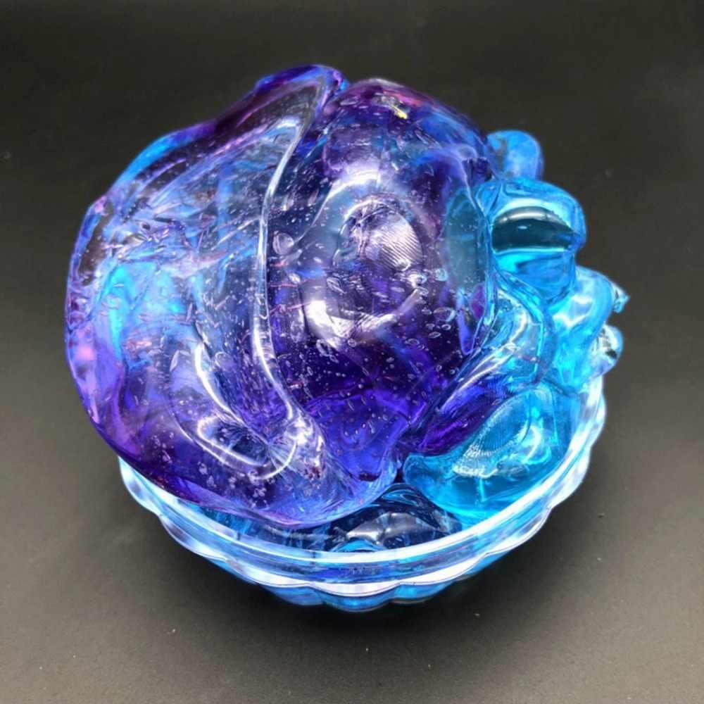 280ml DIY คริสตัลโคลนสีสวยผสม Cloud Slime Squishy Putty Scented ความเครียด Reliever ปลอดสารพิษปลอดภัยของเล่นแป้ง