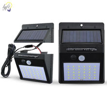 LED Solar Light 3 Mode Split Solar Induction Wall Lamp Outdoor Waterproof Garden Light 20 30 LED(China)