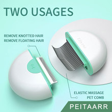 Hair-Fur-Removal-Brush Relief-Massage Dog Grooming Pet-Comb Itching Cat Floating-Knotted