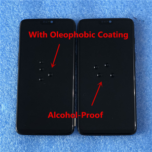 """Image 4 - 6.28"""" Original Super Amoled Axisinternational For OnePlus 6 Oneplus 6 LCD Display Screen  With Frame+Touch Panel Digitizer"""