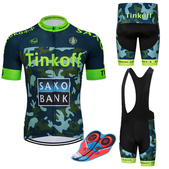 Tinkoff Jersey Cycling Set Pro Team 2020 Cycling Jersey MTB Wear Short Sleeve Set Bike Sport Clothing Kits Maillot Ropa Ciclismo