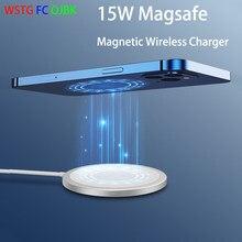 Chargeur sans fil magnétique 15W pour iPhone 12 Pro Max Mini pour Magsafe chargeur rapide rapide PD 20W