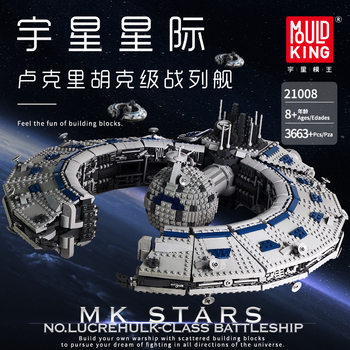 Starwars Lucrehulk Class Battleship lepined Star Toys Wars Destroyer Droid Control Ship Model Building Blocks MOC-13056 Bricks new starwars destroyer cruise ship star plan the empire over jedha city building blocks bricks toys for christmas gift 05027