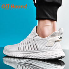 Off-Bound Men Women Running Shoes Summer Breathable Mesh Tennis Sport Sneakers Couple Casual Shoes Walking Trainers Sneakers 46