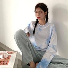 Новое поступление 2020 футболки в Корейском стиле с цветочным