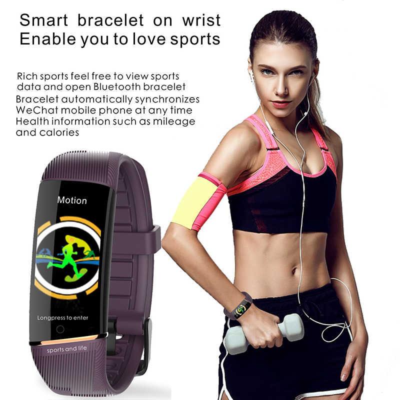ييج ساعة ذكية النساء الرياضة الصحية سوار ذكي ضغط الدم مراقب معدل ضربات القلب النشاط جهاز تعقب للياقة البدنية ل ساعات الزوجين