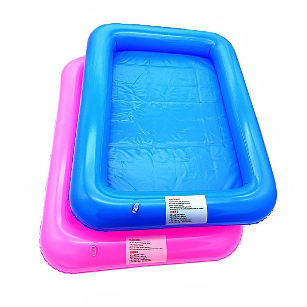 Children 39 s Play Sand Toys Indoor Castle Play Sandbox Inflatable Sand Tray Table Random Color in Beach Sand toys from Toys amp Hobbies