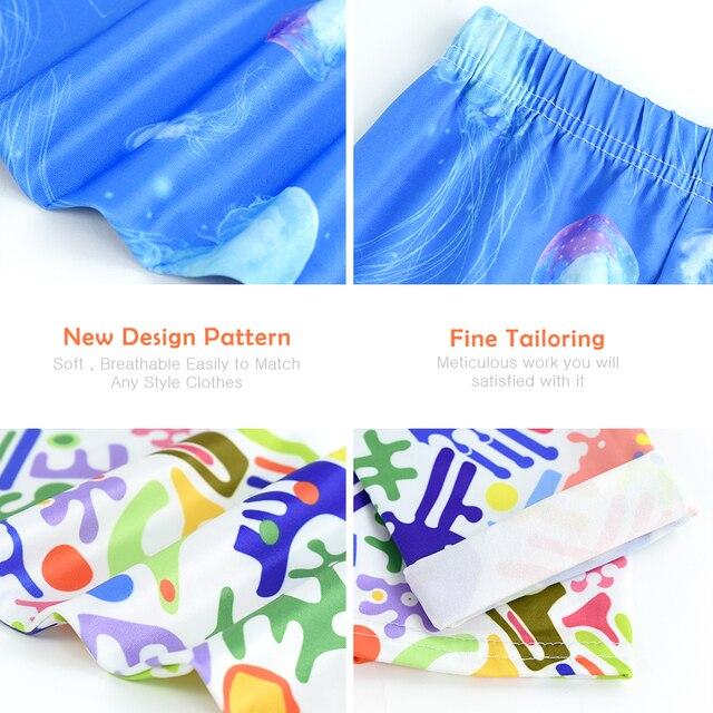 Vestiti Delle Ragazze Dei Pantaloni delle Ghette delle ragazze per la Corsa Esterna Studente Casual Usura Personalizzabile Moda Computer di Stampa Per 4-13 Anni 5