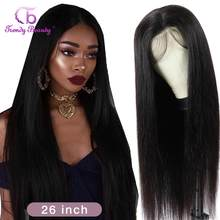 Brazilian 13x4 Lace Front Wigs Natural Hairline Straight Hair Wigs Pre-Plucked 4x4 Lace Closure Human Hair Wigs For Women