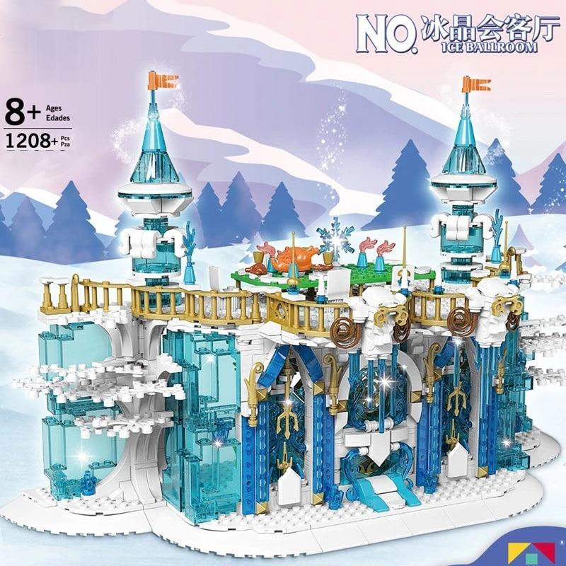 MOULD KING 11010 The MOC Ice Ballroom Model Building Blocks