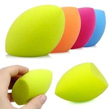 1 pieza de Color aleatorio suave maquillaje base esponja mezcladora Puff impecable herramienta de belleza en polvo