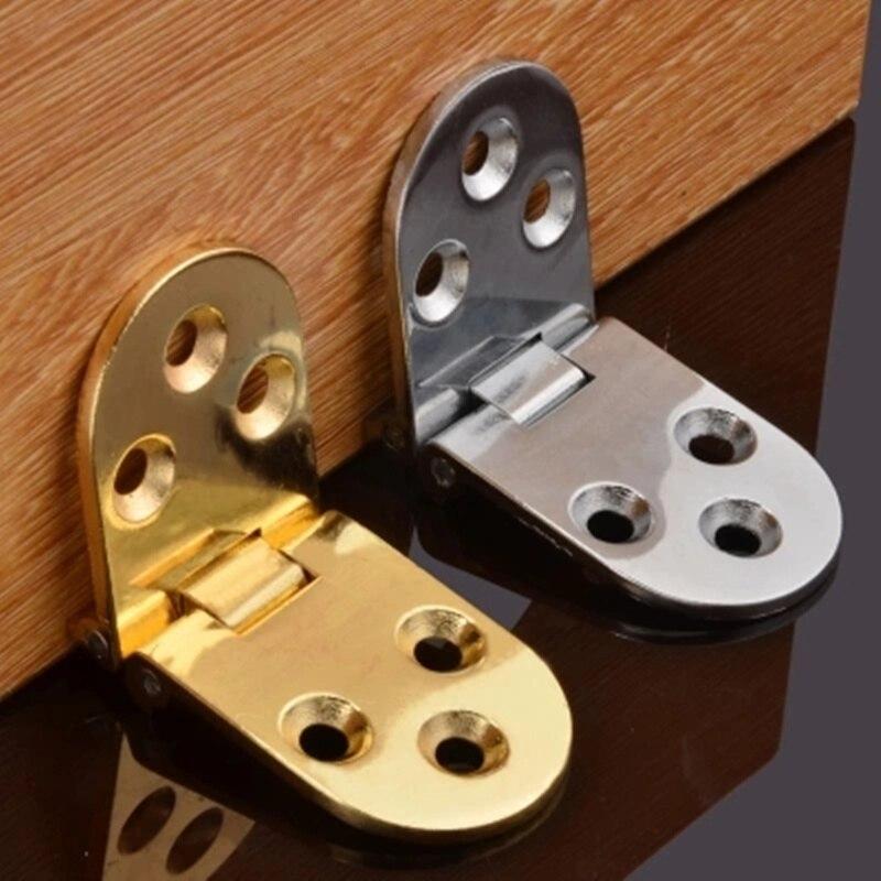 Bisagras 2 Unids Plegable Giratorio de 180 Grados de Cobre Mini Bisagras Muebles Para El Hogar Bisagra para Mesa Plegable Mesa De M/áquina de Coser