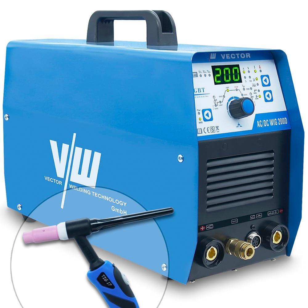 TIG electrode welding machine AC DC Multi Inverter MMA Tig Welder Milti-function
