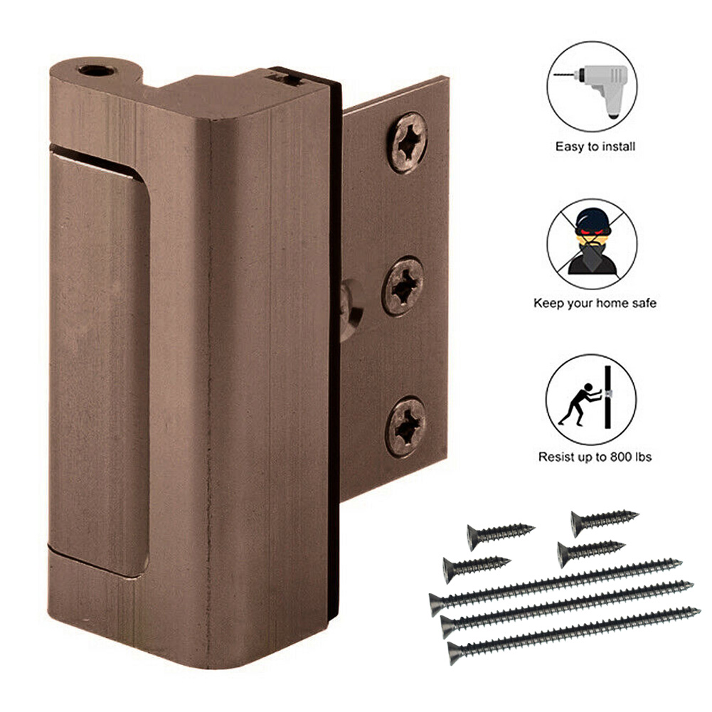 Aluminium Alloy U Door Reinforcement Lock 3