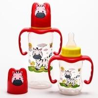 Set of feeding bottles Zebra (125 ml, 300 ml.) Color red 4477743