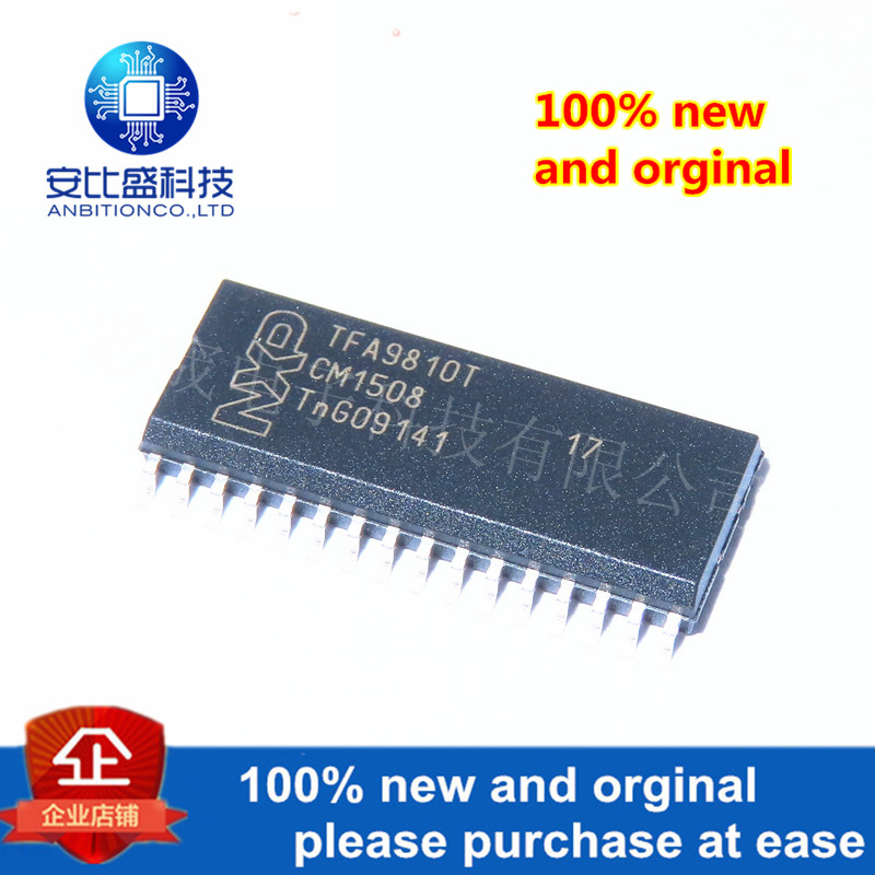 10pcs 100% New And Orginal TFA9810T TFA9810 SOP32 Stereo Full-bridge Audio Amplifier 2 X 12 W  In Stock