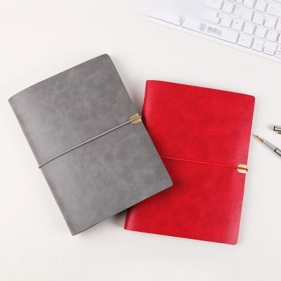 Binder Notebook A5 Pu Leather Spiral 6 Hole Ring Binder Notebook Stationery Planner Agenda Organizer Loose Leaf Personal Diary