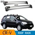 2 шт. для Honda CR-V 3TH SUV 2007-2011CRV 2008 2009 2010 фиксированная крыша poin стойка для крыши автомобиля специальный алюминиевый сплав ремень Замок Led