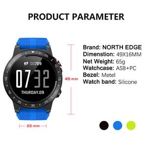 Image 5 - Northedge GPS Smart Watch Running Sport GPS Watch Bluetooth Phone Call Smartphone Waterproof Heart Rate Compass Altitude Clock