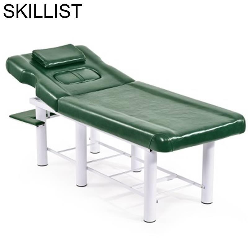 Tafel Silla Masajeadora Letto Pieghevole Lettino Massaggio Folding Camilla Masaje Plegable Salon Chair Table Massage Bed