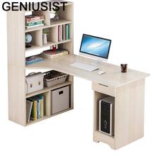 Stojący Mesa Portatil Scrivania meble biurowe Escritorio De Oficina nocny stojak na laptopa biurko stolik na laptopa z regałem tanie tanio GENIUSIST NONE HOME CHINA Laptop biurko