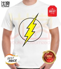 3 Macam Desain Superhero Flash T-shirt Teori Big Bang Sheldon Cooper Cosplay Katun Kaos(China)