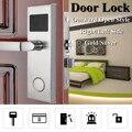 Safurance цифровой карточный замок Безопасность Интеллектуальная RFID цифровая карта ключ разблокировка нержавеющая сталь замок двери гостиниц...
