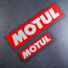 MOTUL – Autocollants de Course automobile, Autocollants réfléchissants et imperméables, pour carrosserie de fenêtre automobile