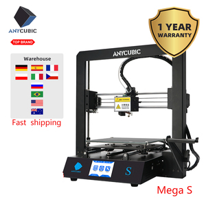 Image 2 - Anycubic 3D Printer Mega s Filament printing Full Metal Frame Industrial Grade High Precision Impresora 3d Kit imprimante