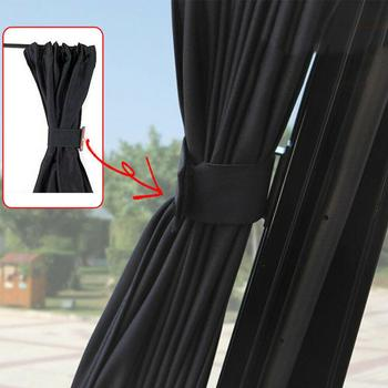 2Pcs Car Foldable Sun Shade UV Protection Car Side Window Sunshade Summer Windshield Sun Shade Curtain For Auto Car Window Films 2pcs car window sunshade aluminum shrinkable curtain car side window uv protection 50s l auto rear windshield sun block