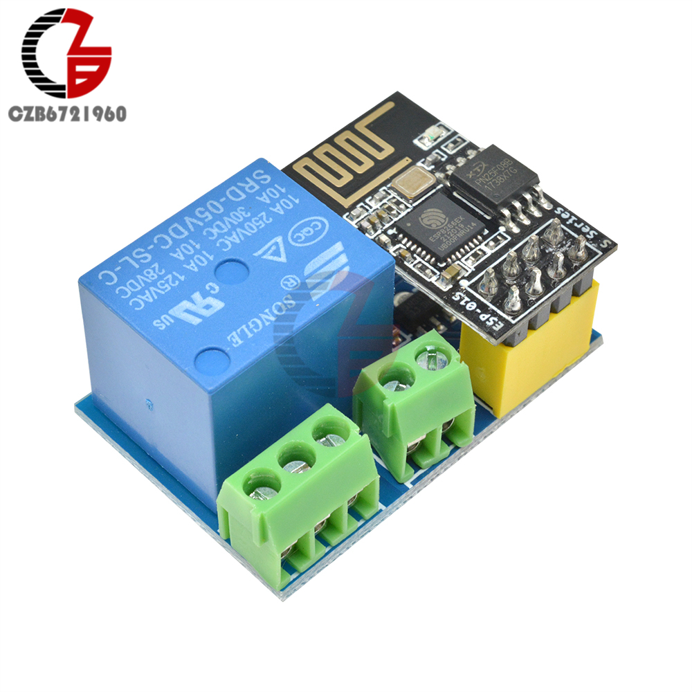 DC 5V ESP8266 ESP-01S 1 Channel Wireless Wifi Relay Module Remote App Control Switch For Arduino DIY Smart Home